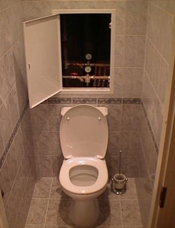 Туалет с ванной своими руками